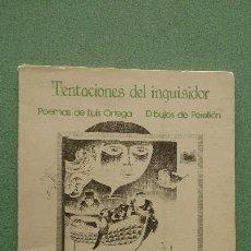 Libros de segunda mano: TENTACIONES DEL INQUISIDOR - CANARIAS- RARO. Lote 61465587
