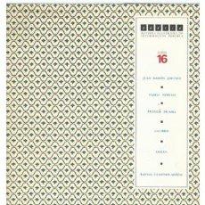 Libros de segunda mano: POESÍA Nº 16. (J R JIMÉNEZ; NERUDA; PICABIA; CANSINOS-ASSÉNS; ETC.) CON SEPARATA DE CANSINOS-ASSÉNS. Lote 62430016