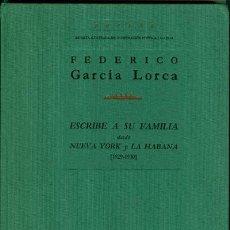 Libros de segunda mano: POESÍA Nº 23-24. (F GARCIA LORCA ESCRIBE A SU FAMILIA DESDE NY Y LA HABANA). GONZALO ARMERO . Lote 62539472