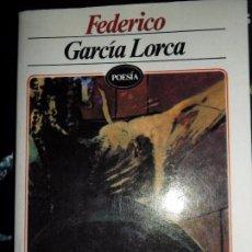 Libros de segunda mano: FEDERICO GARCÍA LORCA, ED. EDITORES MEXICANOS UNIDOS. Lote 66528926