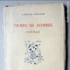 Libros de segunda mano: TIEMPO DE HOMBRE.SANDER,CARLOS. Lote 68489817