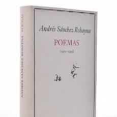 Libros de segunda mano - POEMAS (1970-1999) - SÁNCHEZ ROBAYNA, Andrés - 69452117