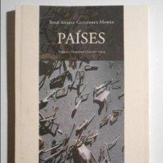 Libros de segunda mano: PAISES. XOSE ANXELU GUTIERREZ MORAN. PREMIU TEODORO CUESTA 2004. POESIA EN ASTURIANU. EDICIONES TRAB. Lote 69568889