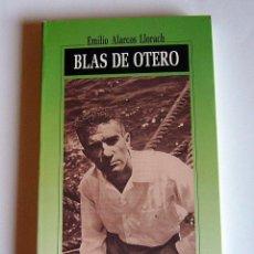 Libros de segunda mano: BLAS DE OTERO - EMILIO ALARCOS LLORACH - EDICIONES NOBEL. COLECCION CLARIN. Lote 69804929