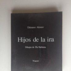 Libros de segunda mano: HIJOS DE LA IRA. DIARIO INTIMO - DÁMASO ALONSO (NOGUER 1975). Lote 70011889