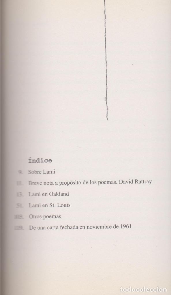 Libros de segunda mano: LAMI - ALDEN VAN BUSKIRK - 2003 - BUEN ESTADO - Foto 3 - 71837171