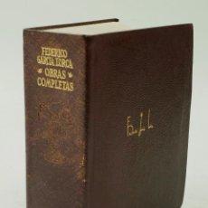 Libros de segunda mano: GARCÍA LORCA, OBRAS COMPLETAS, ED. 1969. 14X18CM.. Lote 72729407