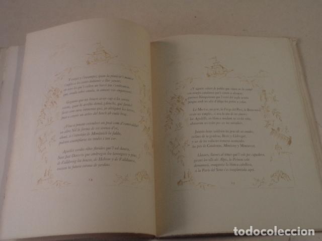 Libros de segunda mano: ODA A BARCELONA - JACINTO VERDAGUER - AÑO 1946 - EDICIÓN DE 130 EJEMPLARES - Foto 3 - 75586651