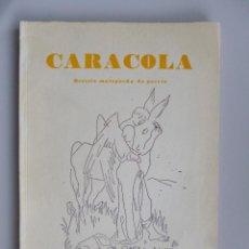 Libros de segunda mano: CARACOLA Nº 60-61 // 1957 // HOMENAJE A JUAN RAMÓN JIMÉNEZ // JORGE GUILLEN; JOSÉ MARIA PEMÁN, ETC. Lote 75888455