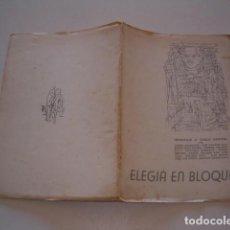 Libros de segunda mano: VV. AA. ELEGÍA EN BLOQUE. HOMENAJE A CIRILO BENÍTEZ. RM79059. . Lote 77225121
