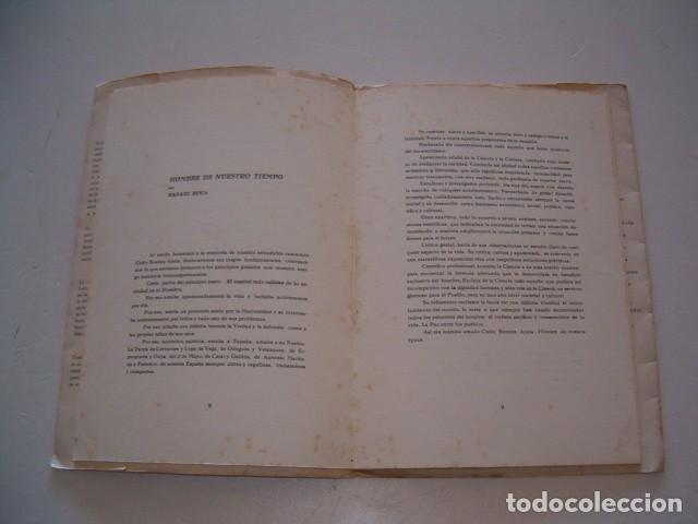 Libros de segunda mano: VV. AA. Elegía en Bloque. Homenaje a Cirilo Benítez. RM79059. - Foto 3 - 77225121