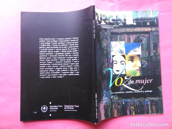 Libros de segunda mano: REVISTA ZURGAI POETAS POR SU PUEBLO JULIO 2004 VOZ DE MUJER EN CASTELLANO EUSKERA Y GALLEGO - Foto 4 - 79664597