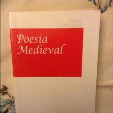 Libros de segunda mano: POESIA MEDIEVAL - CARLOS GUMPERT -. Lote 80315513