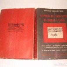 Libros de segunda mano: ANTOLOGIA CABALLO DE FUEGO. LA POESÍA DEL SIGLO VEINTE EN AMÉRICA Y ESPAÑA. RM79852. . Lote 83145408