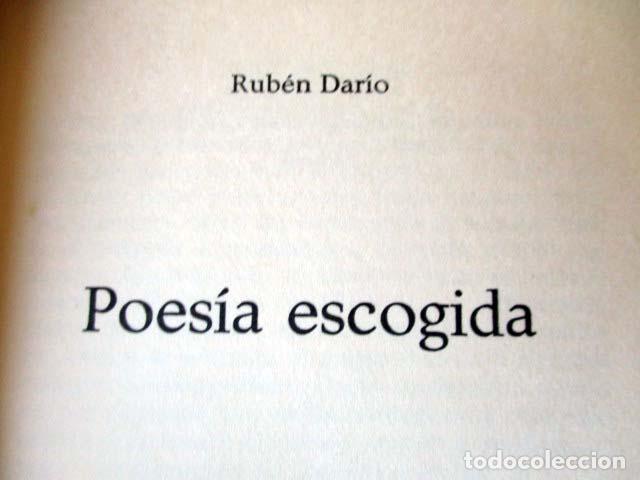 Libros de segunda mano: Rubén Darío. Poesía escogida - Foto 2 - 83307432