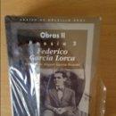 Libros de segunda mano: FEDERICO GARCIA LORCA. POESIA 2 - EDICIÓN DE MIGUEL GARCIA POSADA -. Lote 168636341
