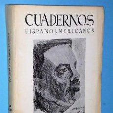 Libros de segunda mano: CUADERNOS HISPANOAMERICANOS. Nº 212-213. AGOSTO SEPTIEMBRE 1967.- HOMENAJE A RUBÉN DARÍO. Lote 83672472
