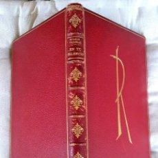 Libros de segunda mano: ESCULTURA,POESIA DE LA ESCULTORA EULALIA FABREGAS DE SENTMENAT,AÑO 1962,EDICON LUJO LIMITADA. Lote 84870704