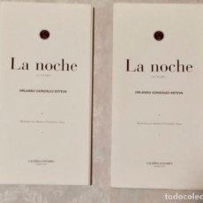 Libros de segunda mano: LA NOCHE (GUNSAKU). Lote 84928228