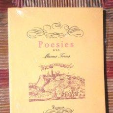 Libros de segunda mano: POESIES 1947 MÀRIUS TORRES NOU INTONS QUADERNS DE L'EXILI CIUTAT DE MÈXIC 1A ED FACSÍMIL 2012 ED 62 . Lote 103784026