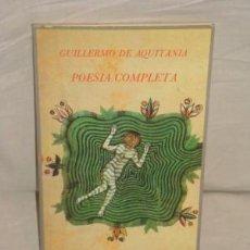 Libros de segunda mano: POESÍA COMPLETA. Lote 86002104