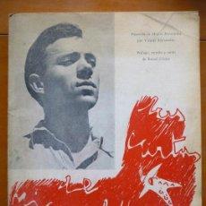 Libros de segunda mano: MIGUEL HERNANDEZ: LAS CARTAS A JOSE MARIA DE COSSIO. Lote 86691740