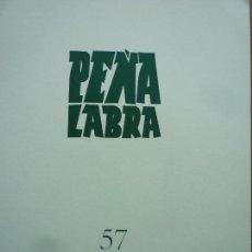 Libros de segunda mano: PEÑA LABRA 57 PLIEGOS DE POESIA. Lote 86703632