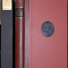 Libros de segunda mano: SHAKESPEARE. THE POEMS. LIMITED EDITIONS CLUB. Lote 86903312