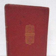 Libros de segunda mano: POESIAS AMATORIAS. SELECCION LUIS ASTRANA MARIN. AGUILAR. CRISOL. VER FOTOGRAFIAS ADJUNTAS. Lote 87320204