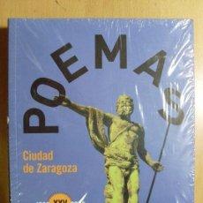 Libros de segunda mano: POEMAS,CIUDAD ZARAGOZA 1983-2008 / XXV CONCURSOS / PRECINTADO. Lote 90380184