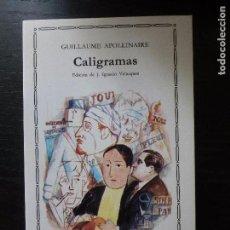 Libros de segunda mano: CALIGRAMAS. APOLLINAIRE. CATEDRA 2007 280PP. Lote 93306520