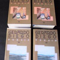 Libros de segunda mano: OBRA COMPLETA. 2 TOMOS EN ESTUCHE. GERARDO DIEGO. ED. AGUILAR. 1989.. Lote 94582019