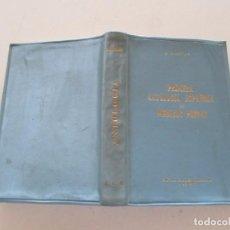 Libros de segunda mano: ALFREDO JUDERÍAS. PRIMERA ANTOLOGÍA ESPAÑOLA DE MÉDICOS POETAS. (SIGLOS XV AL XX). RM82154. . Lote 95146251
