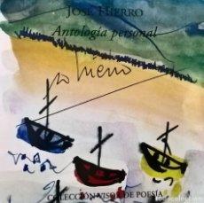 Libros de segunda mano: JOSÉ HIERRO. ANTOLOGÍA PERSONAL. - COLECCIÓN VISOR DE POESÍA - CD AUDIO + LIBRO - ISBN 9788475224442. Lote 95441103