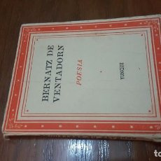Libros de segunda mano: POESÍA. BERNATZ DE VENTADORN. 1940. EDITORIAL YUNQUE. . Lote 96486419