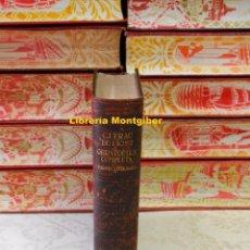 Libros de segunda mano: OBRA POÈTICA COMPLETA . PROSES LITERÀRIES . AUTOR : LIOST, GUERAU DE . Lote 97100139