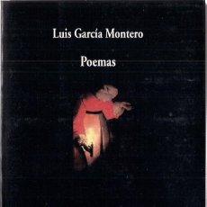 Libros de segunda mano: LUIS GARCÍA MONTERO : POEMAS. SELECCIÓN DEL AUTOR. (VISOR DE POESÍA, 2008) . Lote 97324647