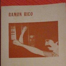 Libros de segunda mano: RAMON RICO.POEMAS CARCELARIOS.EL VISO DEL ALCOR.SEVILLA.1984. Lote 97672411