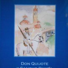 Libros de segunda mano: DON QUIJOTE Y SANCHO PANZA EN SEVILLA EUGENIO CARRASCO EL POETA GITANO 2005. Lote 97817091