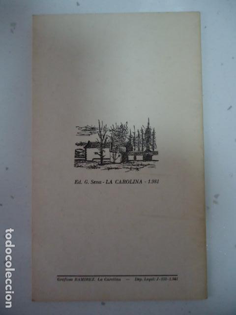 Libros de segunda mano: SIEMPRE ES TIEMPO DE AMAR - CABRIA CUADERNOS DE POESIA II -NICOLAS MARTINEZ PUGA-LA CAROLINA 1981- - Foto 2 - 97882811