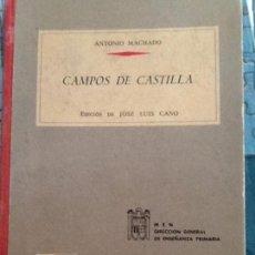Libros de segunda mano: CAMPOS DE CASTILLA. ANTONIO MACHADO. BIBLIOTECA ANAYA. 1963. Lote 98052731
