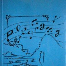 Libros de segunda mano: POEGRAMA RAUL IBAÑEZ DE GARAIO ZAPATENEO 2008. Lote 98834703