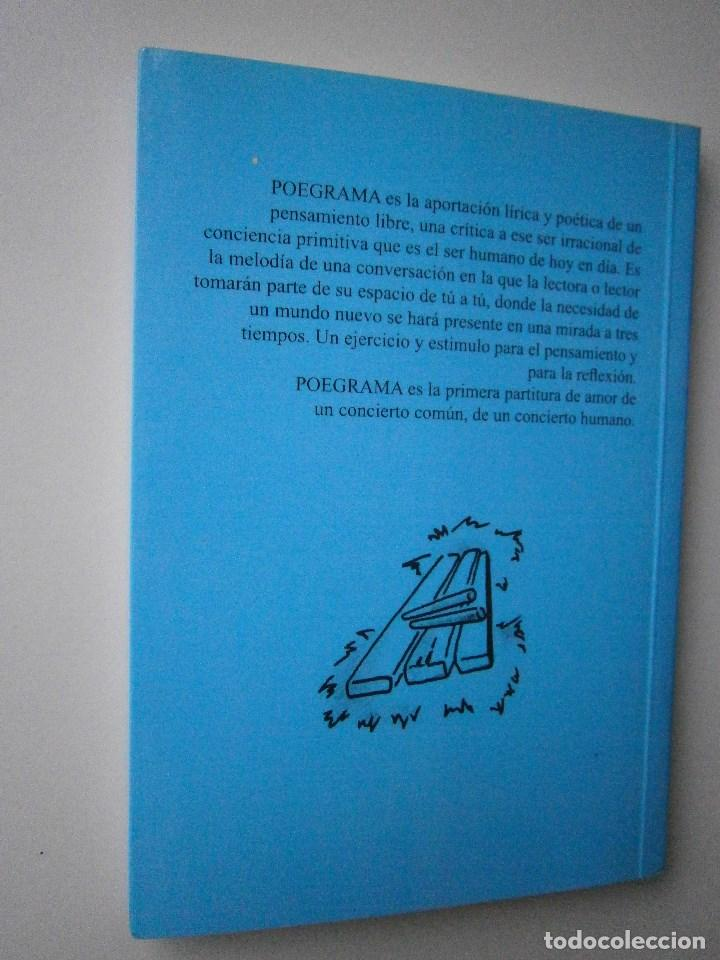 Libros de segunda mano: POEGRAMA Raul Ibañez de Garaio Zapateneo 2008 - Foto 4 - 98834703