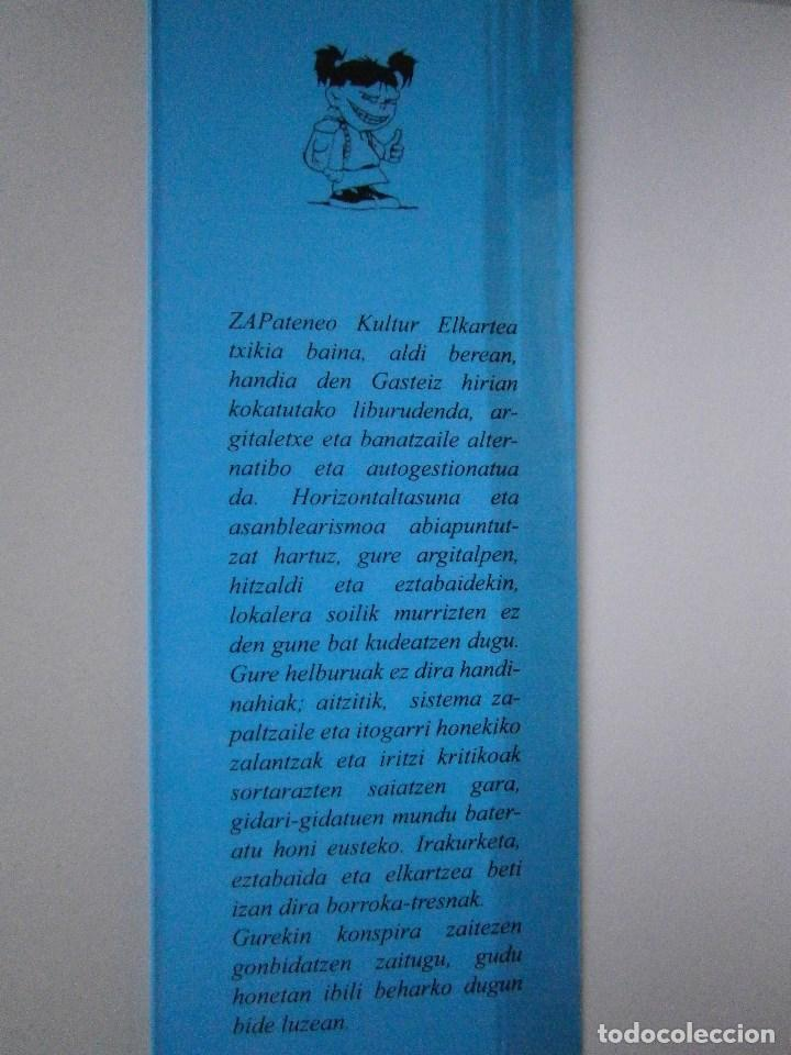 Libros de segunda mano: POEGRAMA Raul Ibañez de Garaio Zapateneo 2008 - Foto 6 - 98834703