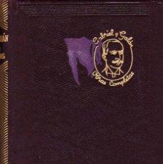 Libros de segunda mano: OBRAS COMPLETAS DE JOSÉ MARÍA GABRIEL Y GALAN. ED.AGUILAR, 1961. CINTA PUNTO DE LECTURA. . Lote 98868011