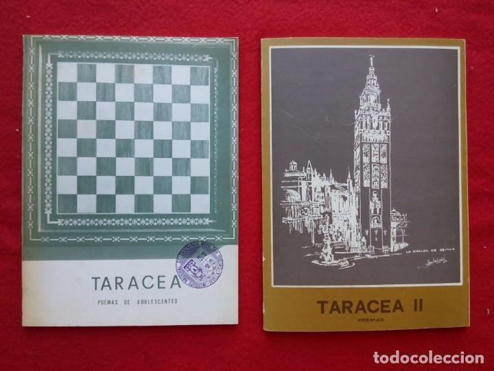 TARACEA 1 Y 2 REVISTA DE POESIA 1978 22 CMS 450 GRS SEVILLA (Libros de Segunda Mano (posteriores a 1936) - Literatura - Poesía)