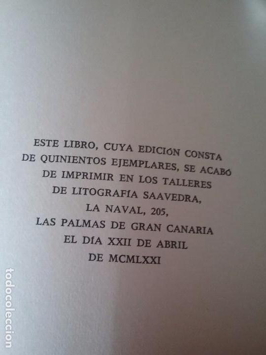 Libros de segunda mano: Recordatorio USA, de Lazaro Santana. Solo 500 ejemplares (poesía canaria, poeta canario, Canarias) - Foto 2 - 99295871