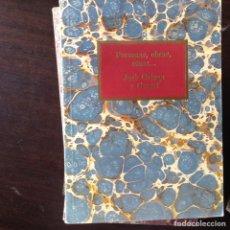 Libros de segunda mano: POEMAS, OBRAS, COSAS...JOSÉ ORTEGA Y GASSET. Lote 99326471