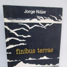 Libros de segunda mano: FINIBUS TERRAE. JORGE NAJAR. EDICIONES PETROPERU. POESIA. VER FOTOGRAFIAS ADJUNTAS. Lote 99501323