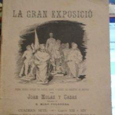 Libros de segunda mano: LA GRAN EXPOSICIÓ POESIA FESTIVA - JOAN MOLAS Y CASAS - PORTAL DEL COL·LECCIONISTA . Lote 99537111